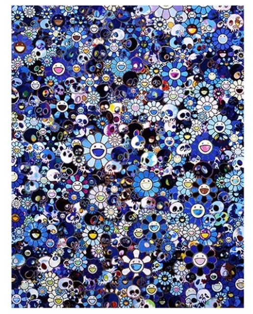 Takashi Murakami, 'Skulls and Flowers', 2016, Kings Wood Art