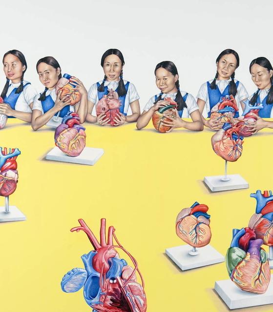 Su-en Wong, 'DH-9 Girls and Hearts', 2009, Art Porters