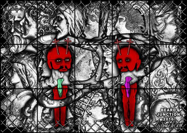 , 'BEARD JUNCTION,' 2017, Lehmann Maupin