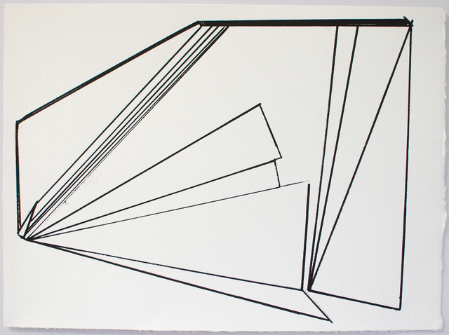 , 'Linear 1,' 2014, Berry Campbell Gallery