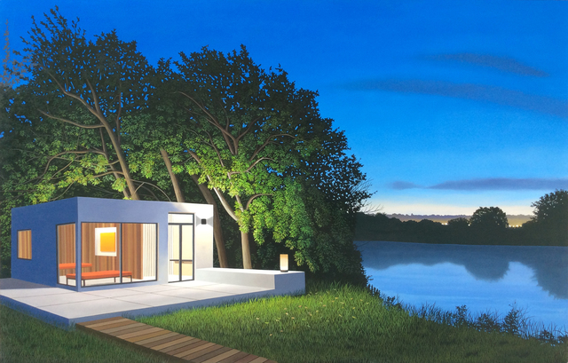, 'River Retreat,' 2014, Berggruen Gallery
