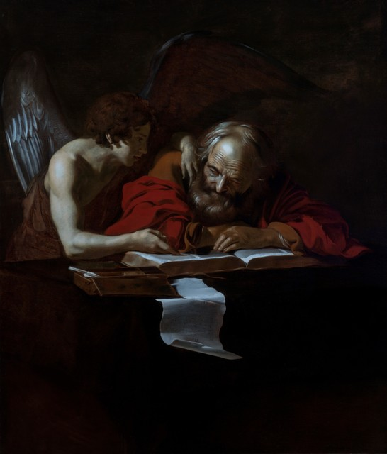 , 'St Matthew & The Angel,' ca. 1615, Robilant + Voena