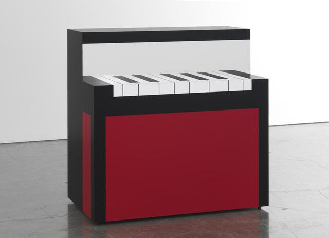 , 'Piano/Malevich,' 2012, Gagosian