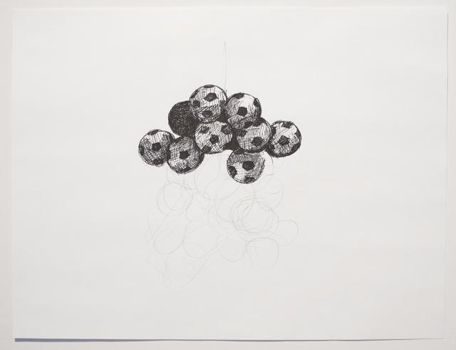 , 'Silent Drawing (Obverse & Reverse 5),' 2010, Josée Bienvenu