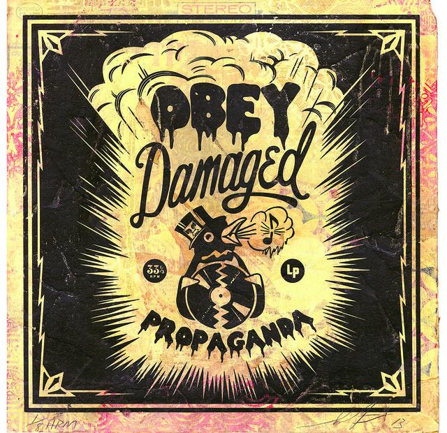 Shepard Fairey (OBEY), 'Damaged ', 2013, Underdogs Gallery