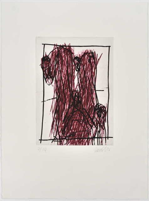 Georg Baselitz, 'Rote Knie (Genoux rouges)', 1995, Galerie Catherine Putman
