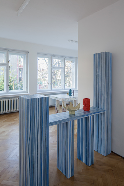 , 'Room Divider & 2 Prague Objects ,' 2015, Svit