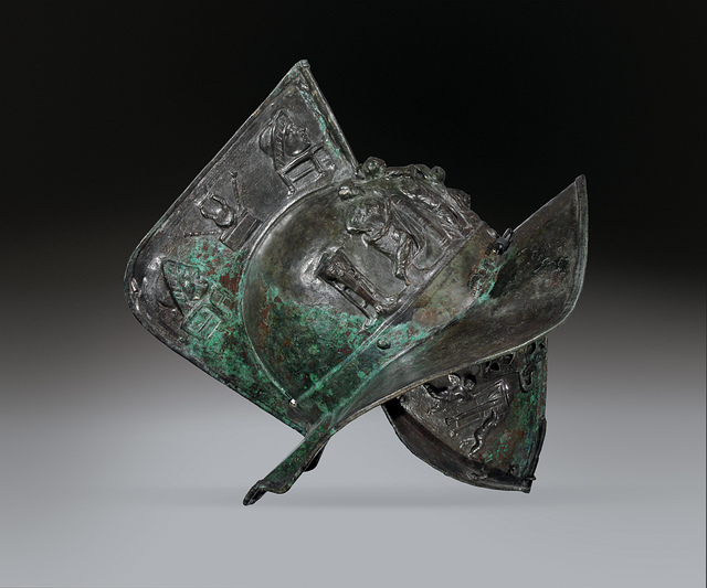 , 'Helmet,' , Montreal Museum of Fine Arts