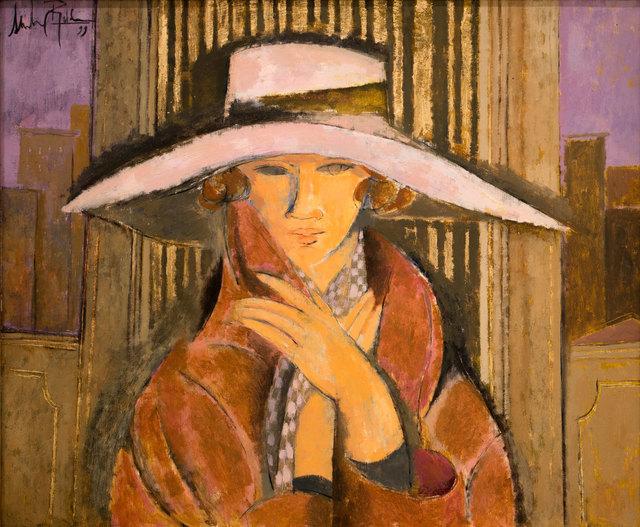 , 'Mujer con Sombrero,' 1998, Albemarle Gallery | Pontone Gallery