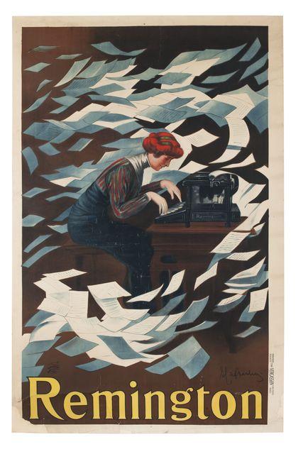 , 'Remington,' 1910, Les Arts Décoratifs