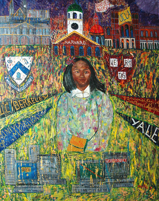 , 'How Mali lost her accent,' 1991, Pacita Abad Art Estate
