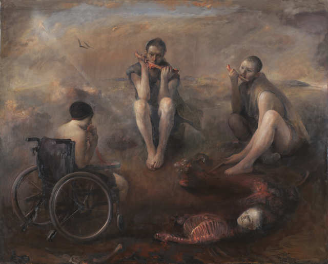 , 'Cannibals,' 2005, Booth Gallery