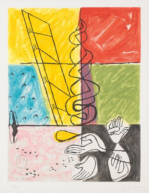 Le Corbusier, 'Unité, plate 11', 1963, Phillips