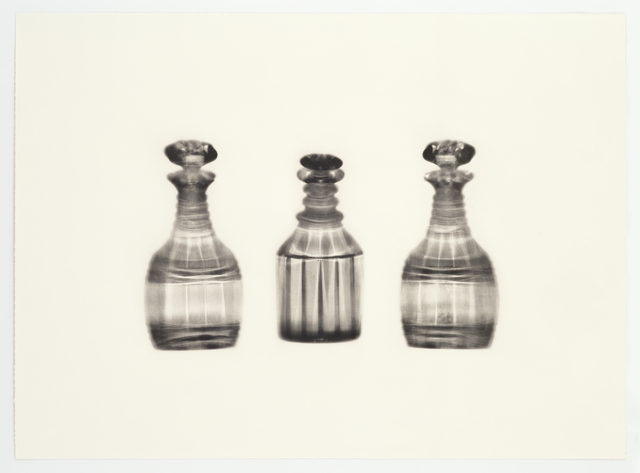 , 'Fox Talbot's Articles of Glass (three decanters),' 2016, Alan Cristea Gallery