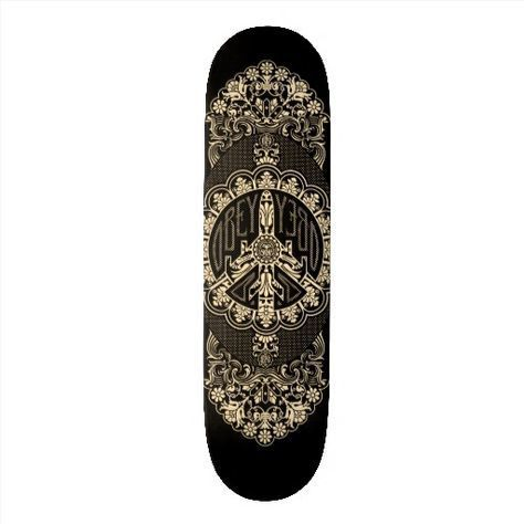 Shepard Fairey, 'SKATEBOARDS - OBEY Peace Plane Deck', Rudolf Budja Gallery