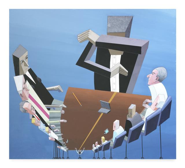 Mernet Larsen, 'Situation Room with Angst', 2018, James Cohan