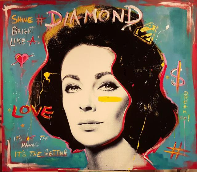 , 'Shine bright like a diamond,' 2017, Eden Fine Art