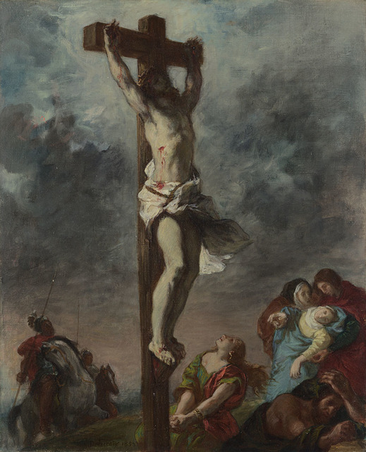, 'Christ on the Cross,' 1853, The National Gallery, London