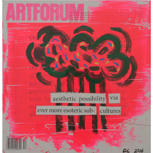 , 'Altered Artforum #9,' 2016, Klowden Mann