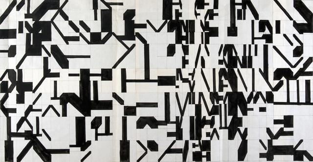 , '0°=45°,' 1974, Anita Beckers