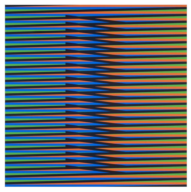 , 'Inducción Cromática a Doble Frecuencia Nora 2,' 2011, Marion Gallery