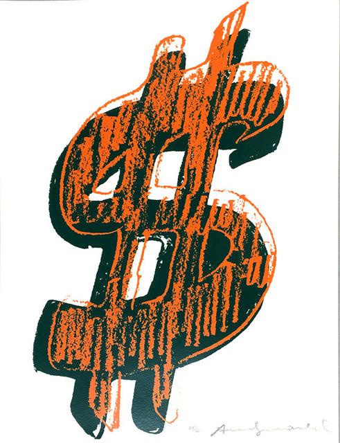 Andy Warhol, '$ (1) FS II.278', 1982, Print, Screenprint on Lenox Museum Board, Upsilon Gallery