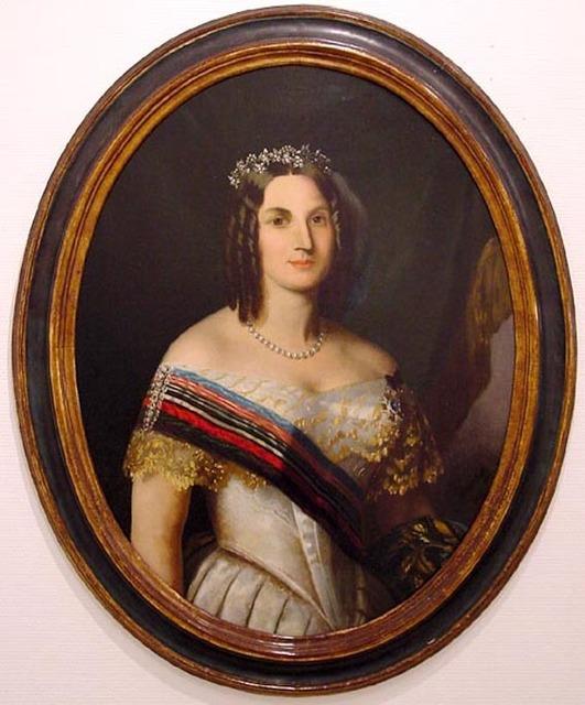 , 'IMPERATRIZ TERESA CRISTINA,' 1850, Maurício Pontual Galeria de Arte