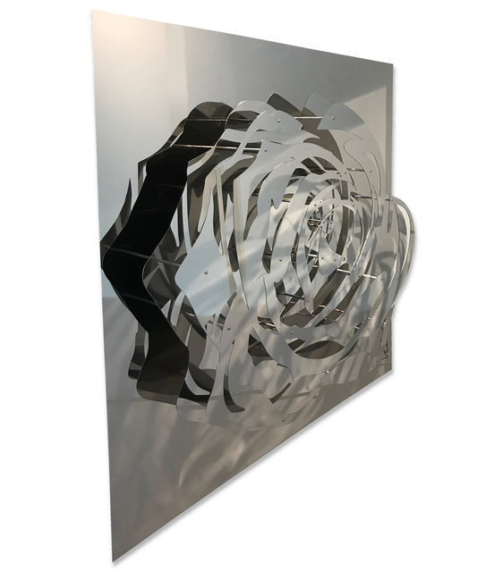 Michael Kalish, 'Large Rose - Mirrored Stainless', 2017, FP Contemporary