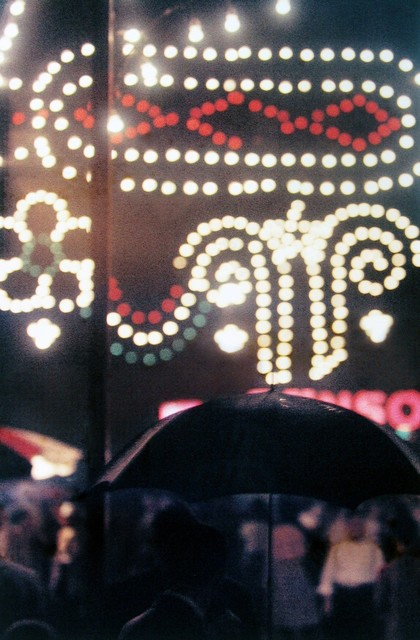 Saul Leiter, 'Festival', 1954, Photography, Chromogenic print; printed later, Howard Greenberg Gallery