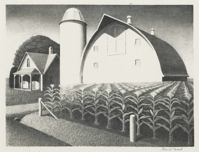 Grant Wood, 'Fertility', 1939, Christie's