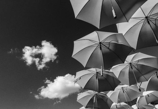 , 'Cielo sobre Szentendre,' 2015, Patricia Conde Galería