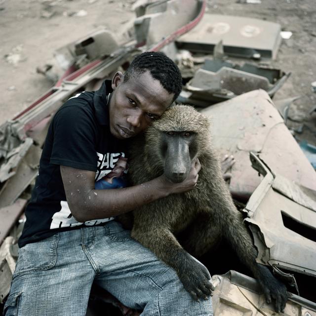 Pieter Hugo, 'Garuba Yawu with Mora, Ogere-Remo, Nigeria', 2007, Stevenson
