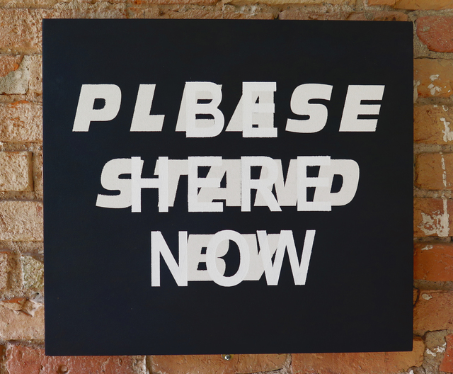 , 'Be Here Now/Please Stand By,' 2011, Resource Art