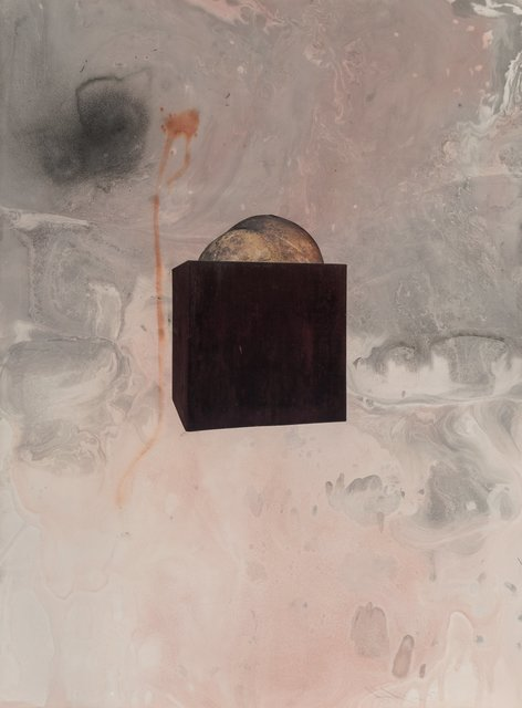 Sterling Ruby, 'Smith on Marbelized Paper 3', 2007, Heritage Auctions