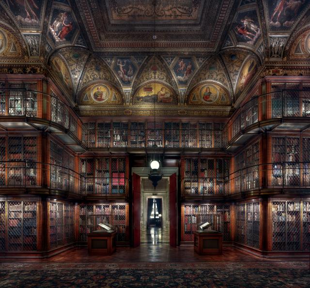 , 'Morgan Library III,' 2015, Lucia Mendoza