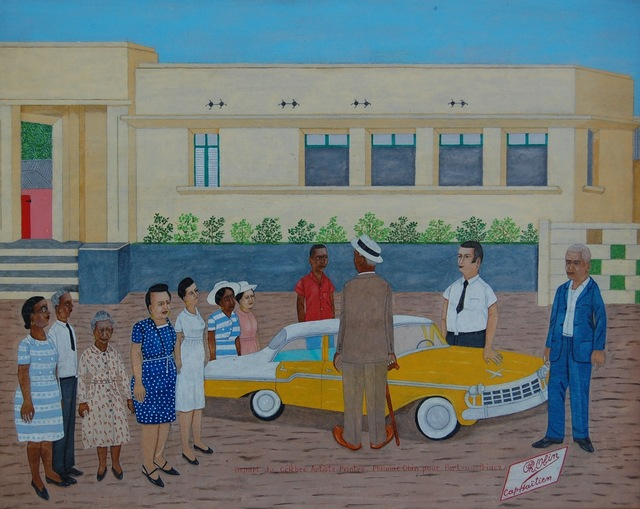 , 'Depart du Celebre Artiste Peintre Philomé Obin pour Port-au-Prince (Haiti),' 1960-1965, ZQ Art Gallery