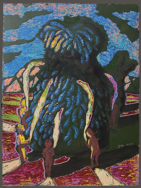 , '时间逝不去的意念No.1 (Unceasing Thoughts No.1),' 2017, Ode to Art