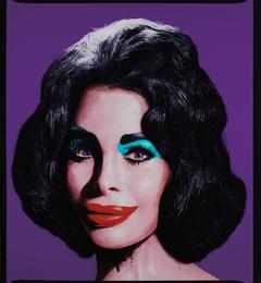 David LaChapelle, 'Amanda as Andy Warhol's Liz in Purple,' 2007, Phillips: Photographs
