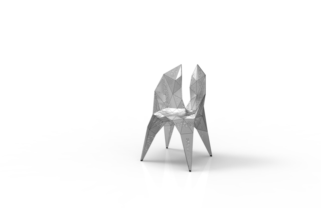 , 'MC012-D-Matt (Endless Form Chair Series),' 2018, Gallery ALL