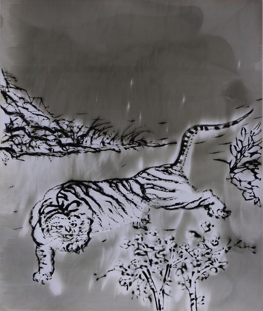 , 'White Tiger,' 2018, M97 Gallery