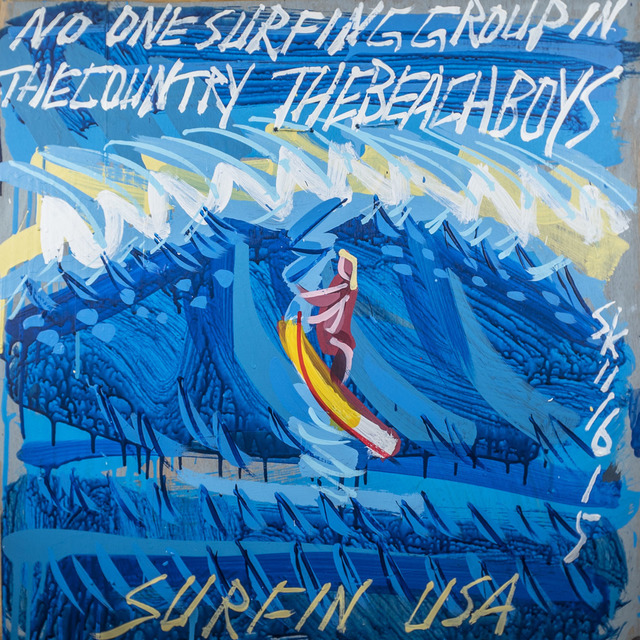 , 'Beach Boys - Surfin' USA,' 2015, Subliminal Projects