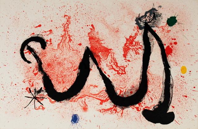 Joan Miró, 'La Danse de Feu', 1963, ArtWise