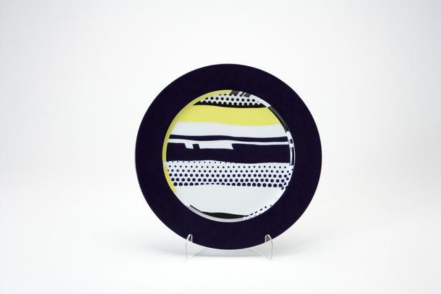 Roy Lichtenstein, 'Rosenthal plate 1', 2000, Sculpture, Ceramic, Kunzt Gallery