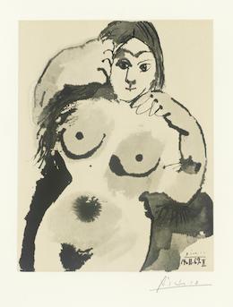 Pablo Picasso, 'Femme Nue', 1969, Hidden