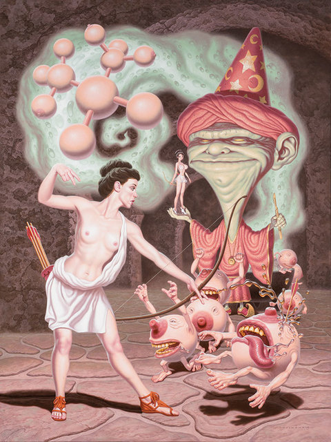 , 'Diana Battles the Wizard of Irrational Aesthetics,' 2014, KP Projects