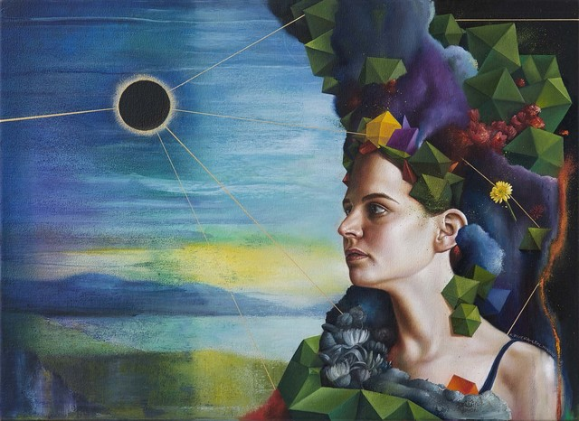 , 'Day of the Eclipse,' 2018, Caldwell Snyder Gallery