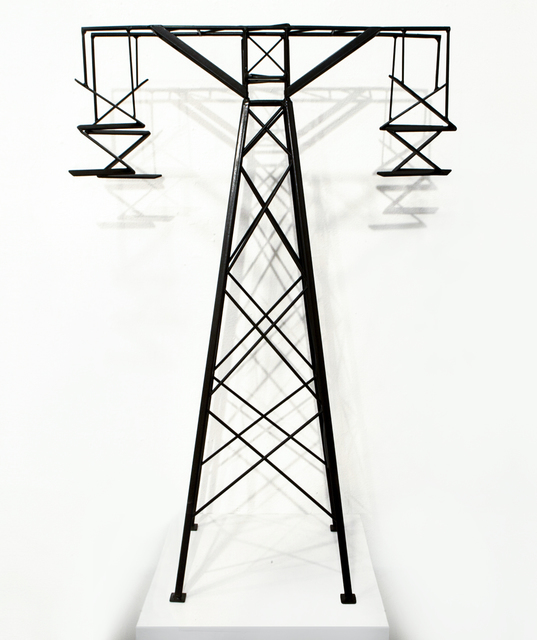 , 'Abstract Model Series #3 (Simple tower with hanging arms),' 2015, OTA Contemporary