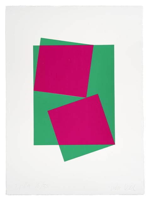 Inka Bell, 'Squares', 2019, Print, Screen print on paper, Uprise Art