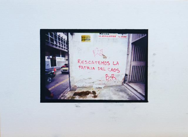 , 'Rescatemos a la Patria del Caos,' 2018, Galeria Luisa Strina