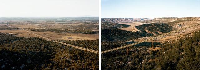 , 'Untitled, (Coal conveyor belt), Near Kayenta, Apache-Navajo counties, Arizona,' 2017, Yancey Richardson Gallery